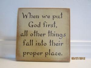 put-god-first