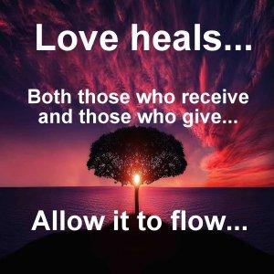 liefde geven en ontvangen