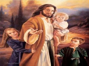 kinderen met jezus