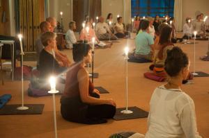 meditatie kaars