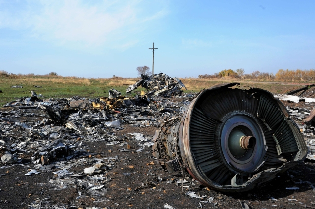 Image: UKRAINE-RUSSIA-CRISIS-MALAYSIA-ACCIDENT-CRASH