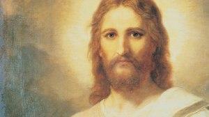 jezus kijkt naar me