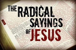jezus radicaal