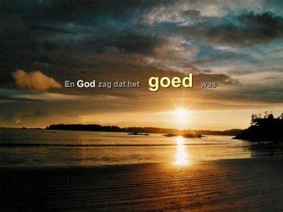 En God zag dat het goed was